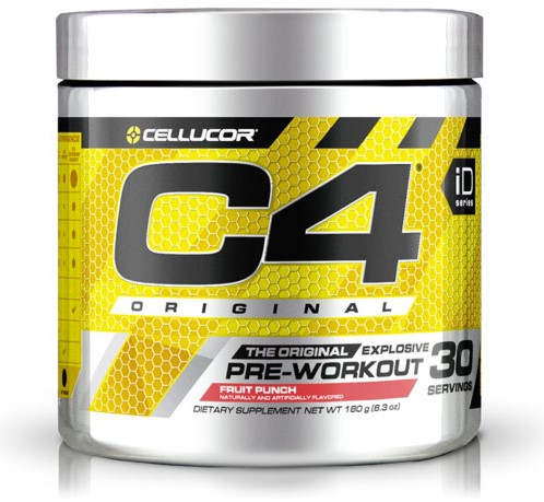 C4 Original Pre-workout Fruit Punch (195 gr)