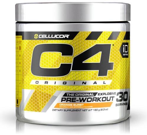 C4 Original Pre-workout Orange Burst (195 gr)