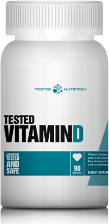 Tested Vitamin D (90 caps)