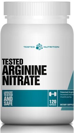 Tested Arginine Nitrate (120 caps)