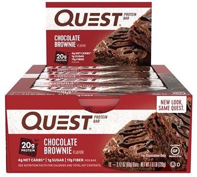 Quest Bar Chocolate Brownie (12 x 60 gr)