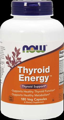 NOW Foods Thyroid Energy (180 caps)