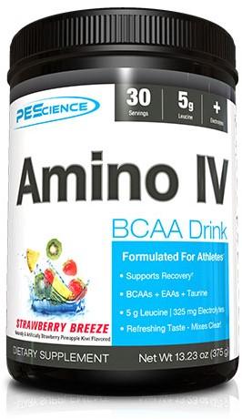 Amino IV Strawberry Breeze (375 gr)