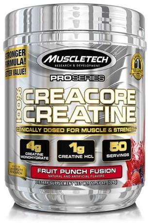 Creacore Creatine Fruit Punch Fusion (326 gr)