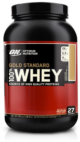 Gold Standard 100% Whey Chocolate Peanut Butter (908 gr)