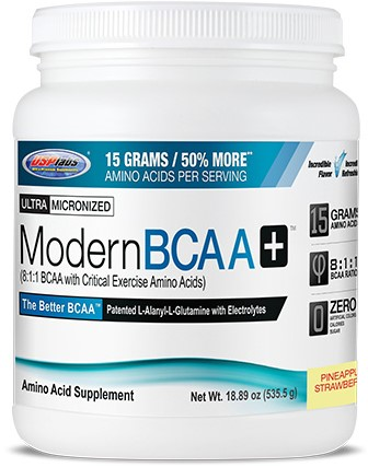 Modern BCAA+ Pineapple Strawberry (535 gr)