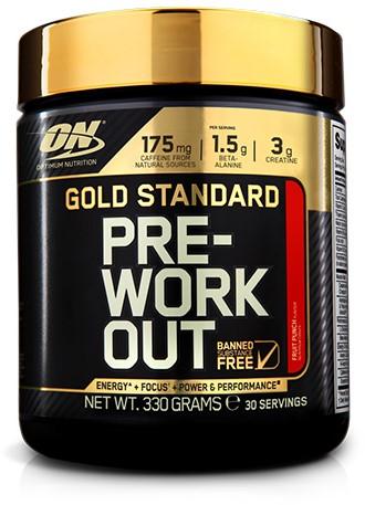 Gold Standard Pre-Workout Fruit Punch (330 gr)