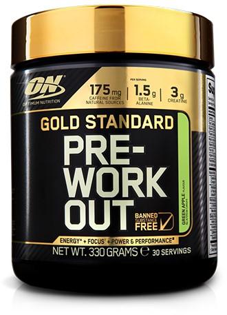 Gold Standard Pre-Workout Green Apple (330 gr)