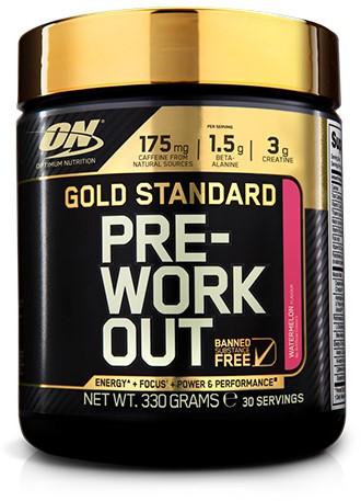 Gold Standard Pre-Workout Watermelon (330 gr)