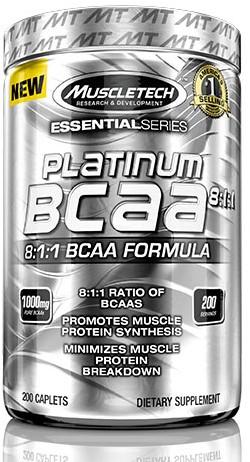 Platinum BCAA (200 Caps)