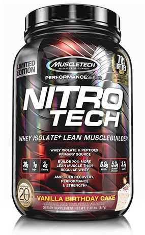Performance Series Nitro Tech Vanilla Birthday Cake (908 gr)