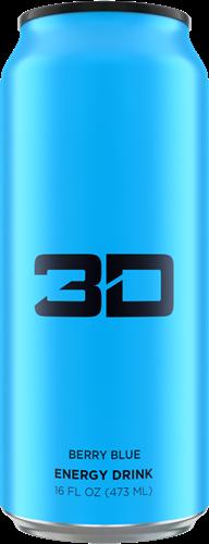 3D Energy Berry Blue (1 x 473 ml)