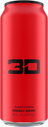 3D Energy Candy Punch (1 x 473 ml)