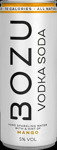 BOZU Vodka Soda Mango (1 x 250 ml)