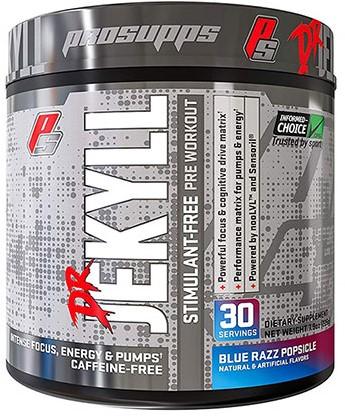 Dr. Jekyll Stimulant Free Blue Razz Popsicle (210 gr)