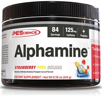 Alphamine Strawberry Pina Colada (252 gr)
