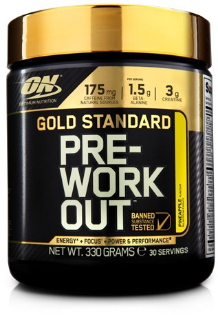 Gold Standard Pre-Workout Pineapple (330 gr)