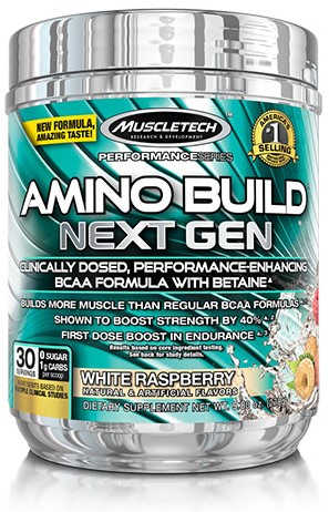 Amino Build Next Gen White Raspberry (276 gr)