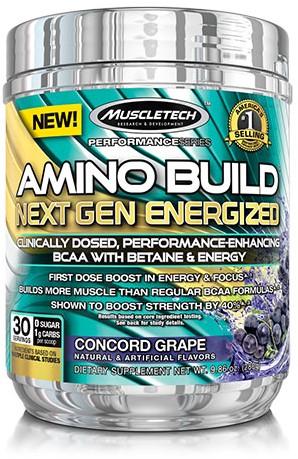 Amino Build Next Gen Energized Concord Grape (280 gr)