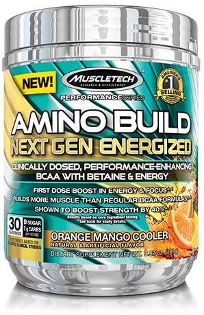 Amino Build Next Gen Energized Orange Mango Cooler (280 gr)