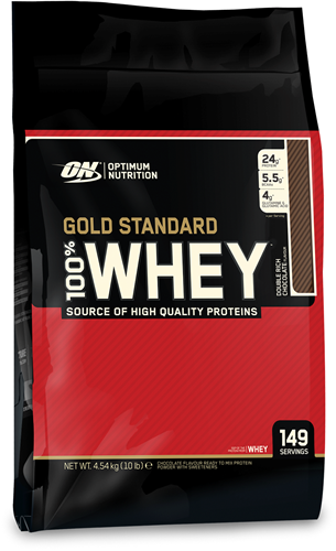 Gold Standard 100% Whey Double Rich Chocolate (4540 gr)