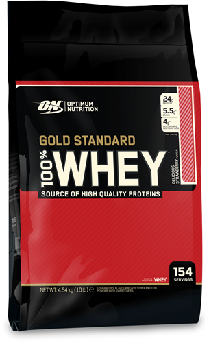 Gold Standard 100% Whey Strawberry (4540 gr)