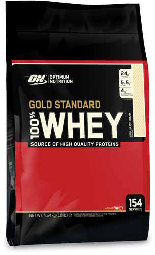Gold Standard 100% Whey Vanilla Ice Cream (4540 gr)