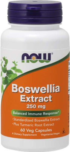 NOW Foods Boswellia Extract 250MG (60 caps)