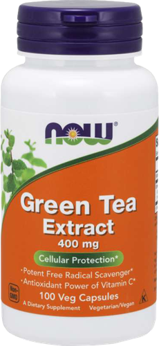 NOW Foods Green Tea Extract 400MG (100 caps)