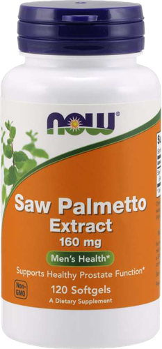 NOW Foods Saw Palmetto Extract 160MG (120 softgels)
