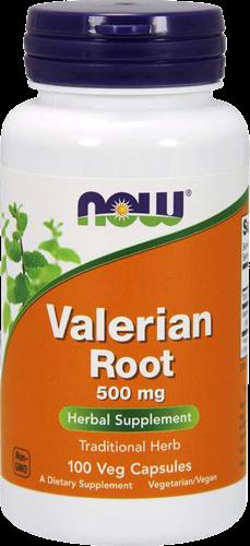 NOW Foods Valerian Root 500MG (100 caps)