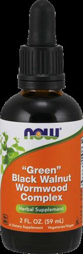 "NOW Foods ""Green"" Black Walnut Wormwood Complex (59 ml)"