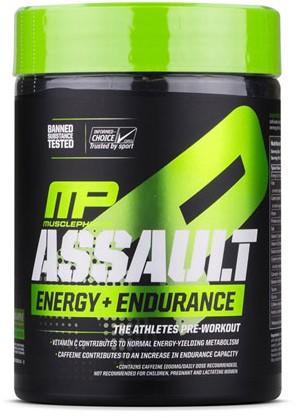 Assault Energy Green Apple (345 gr)