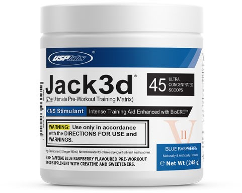 Jack3d Advanced Blue Raspberry (248 gr)