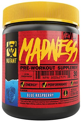 Mutant Madness Blue Raspberry (225 gr)