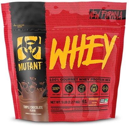 Mutant Whey Triple Chocolate (2270 gr)