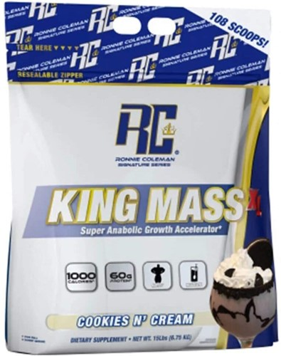King Mass XL Cookies N' Cream (6750 gr)