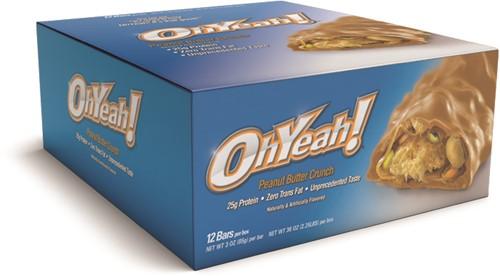 Oh Yeah! Protein Bar Peanut Butter Crunch (12 x 85 gr)
