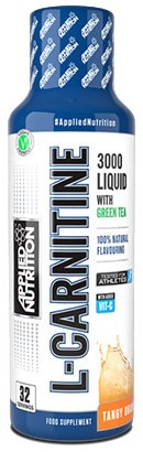 Applied Nutrition Liquid L-Carnitine Tangy Orange (495 ml)