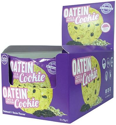 Oatein Cookie Oatmeal & Raisin (12 x 75 gr)