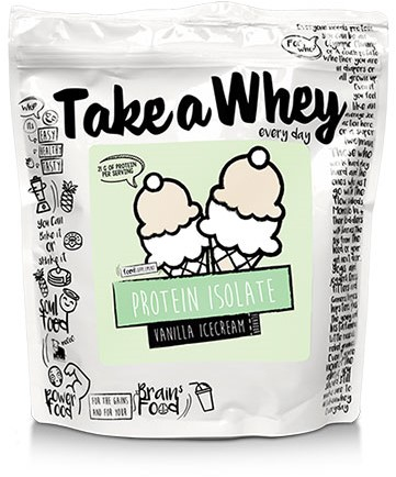 Take-a-Whey Isolate Protein Vanilla Ice Cream (900 gr)