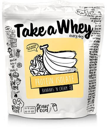 Take-a-Whey Isolate Protein Bananas 'N Cream (900 gr)