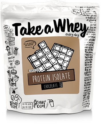 Take-a-Whey Isolate Protein Chocolate (900 gr)