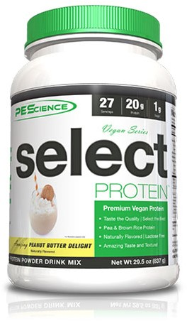 PES Select Vegan Protein Peanut Butter Delight (918 gr)