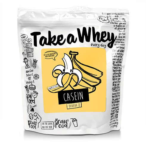 Take-a-Whey Micellar Casein banana milkshake (750 gr)