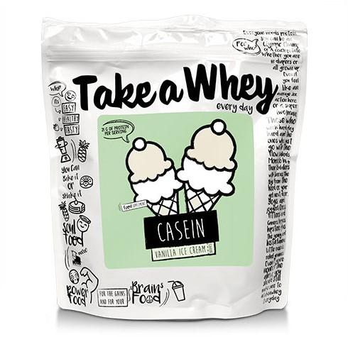 Take-a-Whey Micellar Casein vanilla milkshake (750 gr)