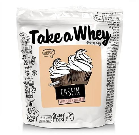 Take-a-Whey Micellar Casein white choc cupcake (750 gr)
