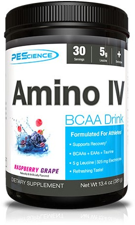 Amino IV Raspberry Grape (375 gr)