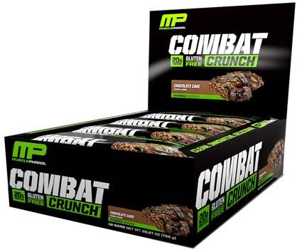 Combat Crunch Bars Chocolate Cake (12 x 63 gr)