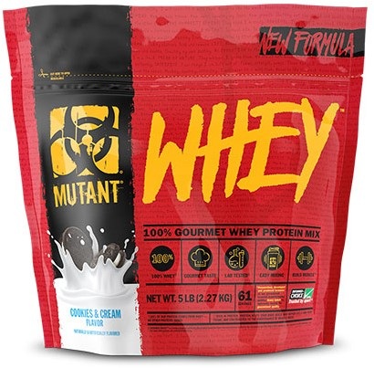 Mutant Whey Cookies and Cream (2270 gr)